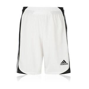 adidas Nova Junior Boys White Sports Training Running Shorts Pants Bottoms