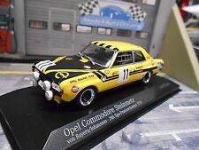 OPEL Commodore A Steinmetz 24h Spa 1970 #11 von Bayern Gos Minichamps 1:43