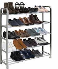 Étagère à chaussures 3 étages critiquée étagère en bois naturel organisateur stockage support unit holder