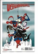 web-warriors #11 (Duarte Variante de , NOV 2016 ) NM NUEVO (embolsado&Madera)