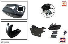 Universal QUALITY Arm rest Armrest Centre Console Carbon look car auto NEW