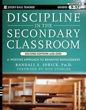 Discipline in the Secondary Classroom: A Positive Approach to Behavior-ExLibrary