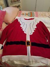 UGLY CHRISTMAS SWEATER SANTA SIZE  4XL NWT