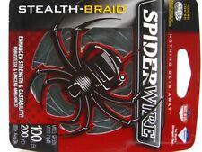 SPIDERWIRE Green STEALTH BRAID Superline 100 LB 200 YDS Braided Fishing Line
