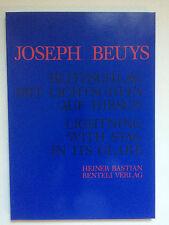JOSEPH BEUYS, first edition artist's book, 1986