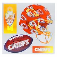 NFL 3-D Holographic 4 Team Magnets Kansas City Chiefs or San Francisco 49ers