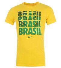Nike Chemise Pour Homme Brésil Brésil taille XL Jaune Vert neuf avec étiquette