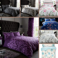 Empire Damask Duvet Cover Camila Quilt Covers Printed Bedding Single Double King