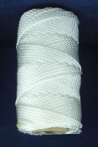 Catahoula 11136 White Twisted Nylon Twine #36 348 Lb. Test 131 ft. 23551