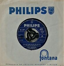 "DUSTY SPRINGFIELD~YOU DON'T HAVE TO SAY YOU LOVE ME~BF 1482~7"" SINGLE"