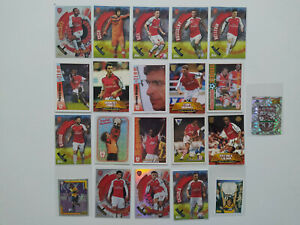 Vintage Arsenal Football/Soccer Cards Bundle - Topps, Merlin, Fans Selection (3)