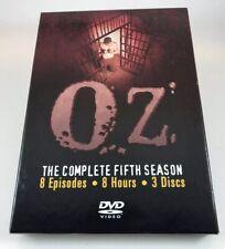 Oz - The Complete Fifth Season (DVD, 2005, 3-Disc Set)