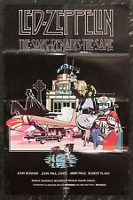 More details for led zeppelin the song remains the same movie poster orignal 1976
