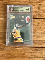 1996-97 Kobe Bryant Skybox Premium #55 Rookie Card RC Gem BGS 9.5 L.A. Lakers