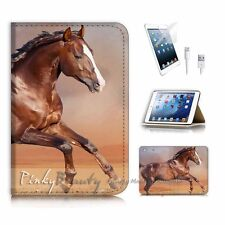 ( For iPad mini Gen 1 2 3 ) Flip Case Cover P2888 Horse