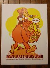 Dave Matthews Band poster Charlottesville 2006 Methane Studios MINT