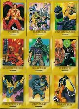 MALIBU ULTRAVERSE 1993 SKYBOX 9 ROOKIE CARD CHASE SET R1 - R9 SET PRIME MANTRA+