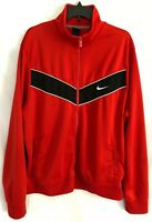 Nike Men Warm Up Track Jacket Red RN#56323 CA#05553 Size XXL