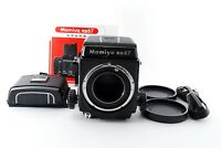 """N MINT+"" Mamiya RB67 Pro Body + Waist Level Finder 120 220 Film Back Japan 9021"