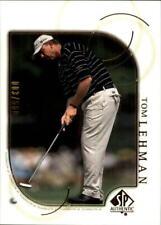 2001 SP Authentic Gold #40 Tom Lehman /500 - NM-MT