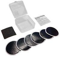 VeloChampion bike puncture repair patches glueless self-adhesive kit, pack of 6