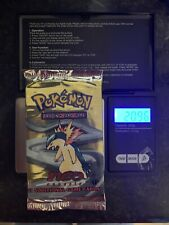 Pokemon neo genesis 1st edition booster pack Factory sealed - Typhlosion