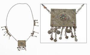 19th C. Antique Islamic Persian Ottoman Bronze Talismanic Pendant - Lot 2