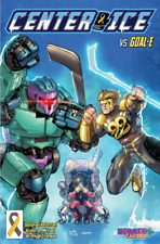 2021 Center Ice Hockey Comic Book 1st Print Heroes 4 Causes Cancer Charity ACS