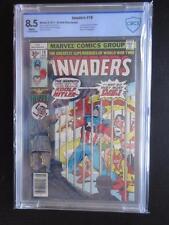 Invaders # 19 MARVEL 1977 - CBCS 8.5 - 35 Cent Price Variant! 1st Union Jack 2!