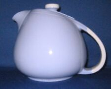 Lune Blue and White 6-Cup Sani-Grid Teapot made by Hall China