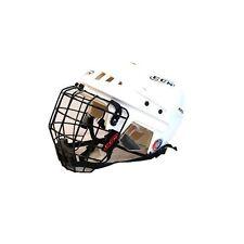 CCM V05 ice hockey helmet cage combo white large new face mask L senior sr