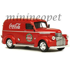 MOTOR CITY CLASSICS 443045 COCA COLA COKE 1945 FORD PANEL DELIVERY VAN 1/43 RED