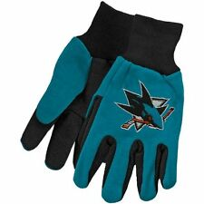 NHL San Jose Sharks Utility Gloves Two Toned Work or Winter