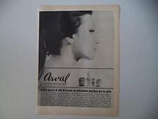 advertising Pubblicità 1965 ARVAL