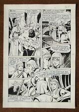"PLANCHE ORIGINALE MON JOURNAL ""VICK"" N°23 OSETE MARTINEZ 1972 Page 45"