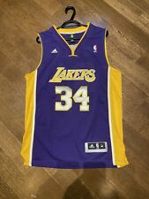 NBA Embroidered Shaquille O'Neal Los Angeles Lakers Jersey (Men's M)