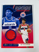 2020 - 21 NBA Hoops Rookie Remembrance Rui Hachimura Jersey Patch Wizards #SS-3
