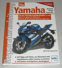 Reparaturanleitung Yamaha 125-ccm-Viertakt YBR 125 / XT 125 R / XT 125 X / YZF-R