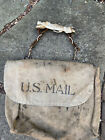 Vintage Canvas And Leather U.S. MAIL Bag