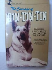 THE COURAGE OF RIN-TIN-TIN, LONGBOX CASE, 1984, RARE