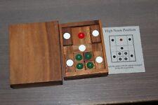 The Mandalay Box Company Setting Sun Wood Sliding Puzzle Game Brain Teaser