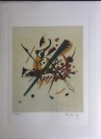 Kandinsky Signée et numérotée Ed 150 + Certificat