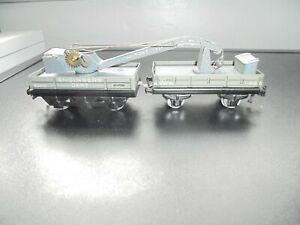 Trix TTR Twin  Railway OO Gauge 615 Crane Truck Set