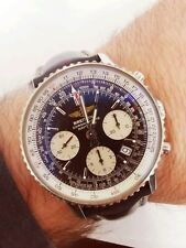 Breitling Navitimer A23322 Black Dial SERVICED BY BREITLING