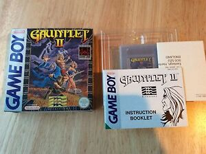 Gauntlet 2 Gameboy Game! Rare! Complete! Look In The Shop!