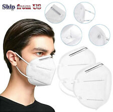 KN95 Face Mask Mouth Cover PM2.5 Breathable 5-Layers Respirator K N95 Nano Mask