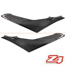 2007 2008 Suzuki GSX-R 1000 Gas Tank Side Trim Cover Fairing Cowl Carbon Fiber