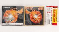 URIAH HEEP - RETURN TO FANTASY Japan CD TECP 18010 Obi 1989