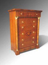Sandalwood Classic Grecian 6-Drawer Dresser Chest