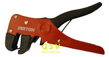 Dekton Automatic Wire Stripper Cutter Plier Tool Light One Handed Operation.